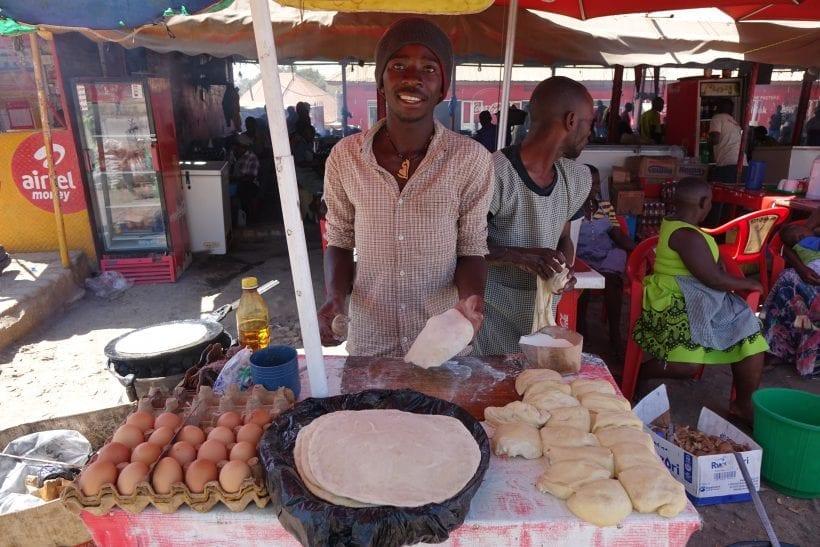 אוכל רחוב באוגנדה