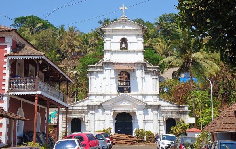 הפורטוגזים היו פה. הרובע הלטיני העתיק בגואה, הודו. צילום: ספיר פרץ זילברמן