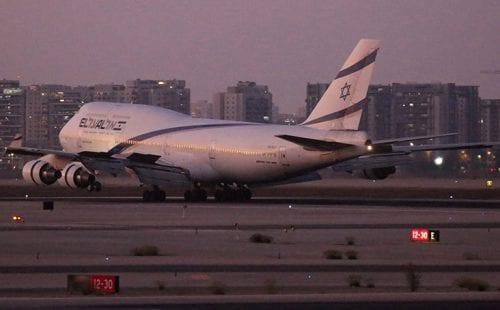 מטוס הג'מבו 747 אל על