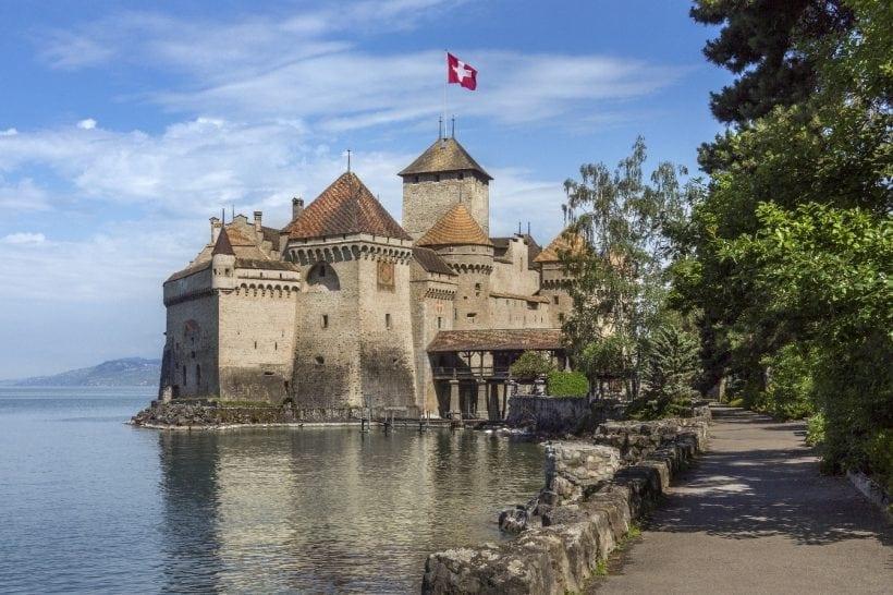 Chateau Chillon - Switzerland
