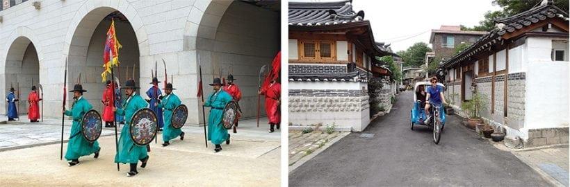 ארמון גיונגבוקגונג וכפר בוקצ'יון הנאק. צילומים: אדי גרלד