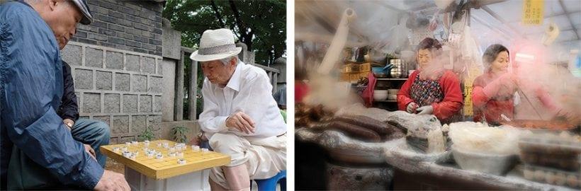 שוק Gwangjang ורובע Jongno-gu. צילומים: אדי גרלד