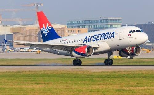 אייר סרביה חוזרת לישראל