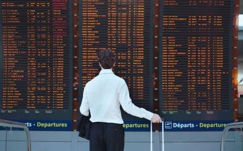 לוח טיסות