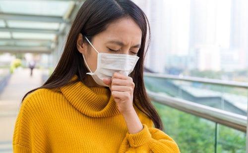 Young Woman feeling unwell|
