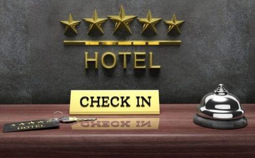 קבלה במלון