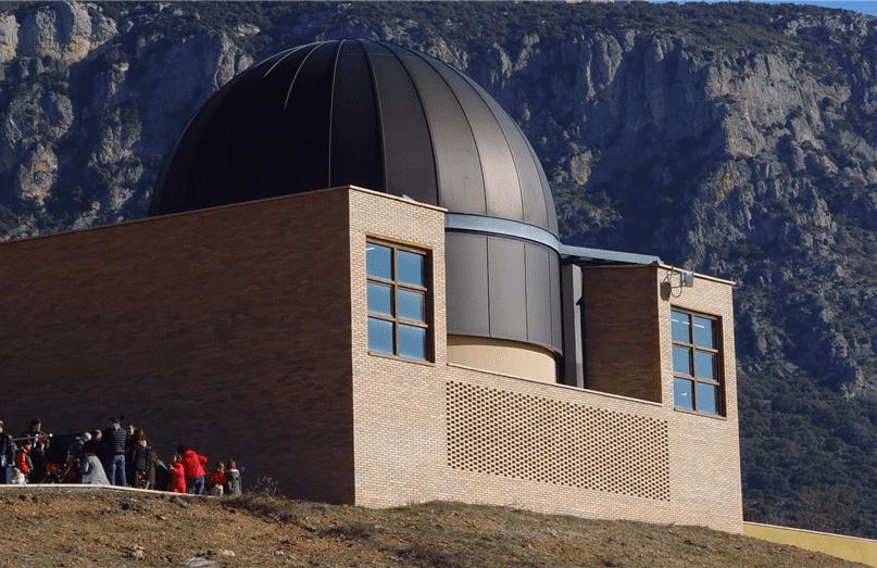 אתר הצפייה מונטסק (Montsec) באגר (Ager) ספרד