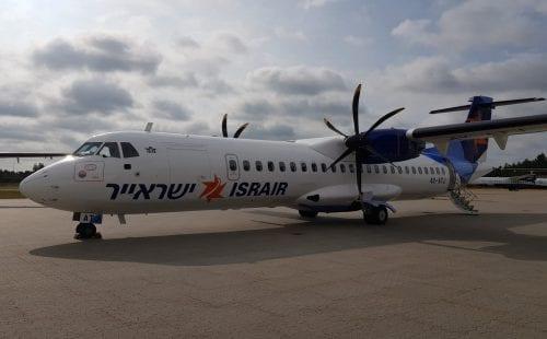 מטוס ATR של ישראייר