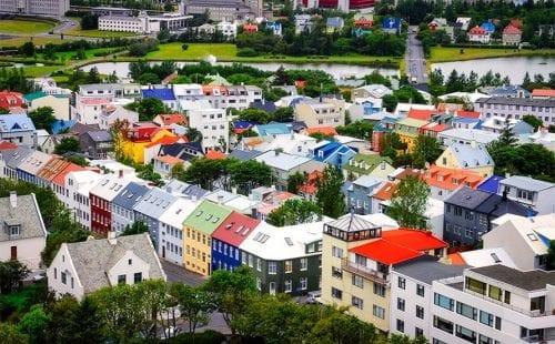 רייקיאוויק בירת איסלנד. צילום: 123rf