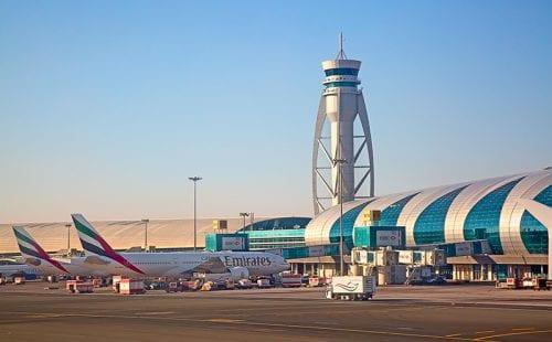 נמל התעופה של דובאי. צילום: shutterstock