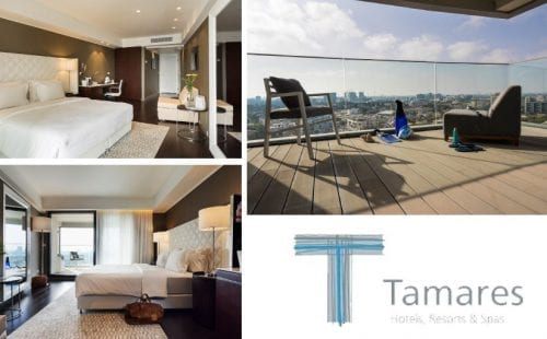 חדרי דה לקס סיטי סייד במלון דניאל הרצליה