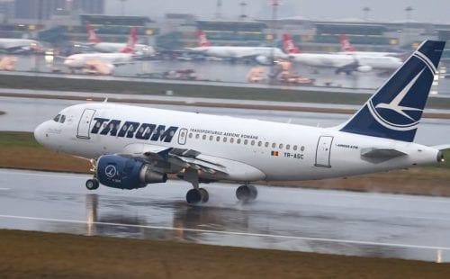 דקה דומייה לפני המראה במטוס טארום. צילום: Shutterstock