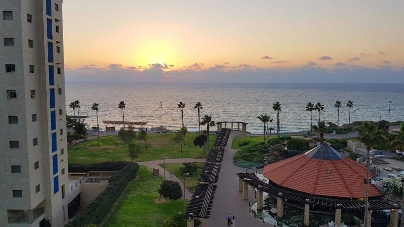 הנוף הנשקף מחדר המלון. צילום: ספיר פרץ-זילברמן