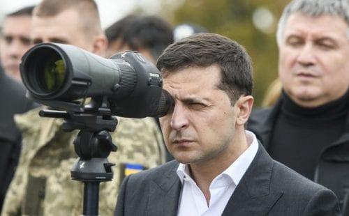 ולדימיר ז'לנסקי, נשיא אוקראינה
