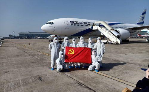 מטוס מטען של אל על בסין