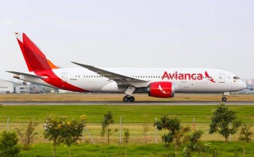 מטוס חברת Avianca