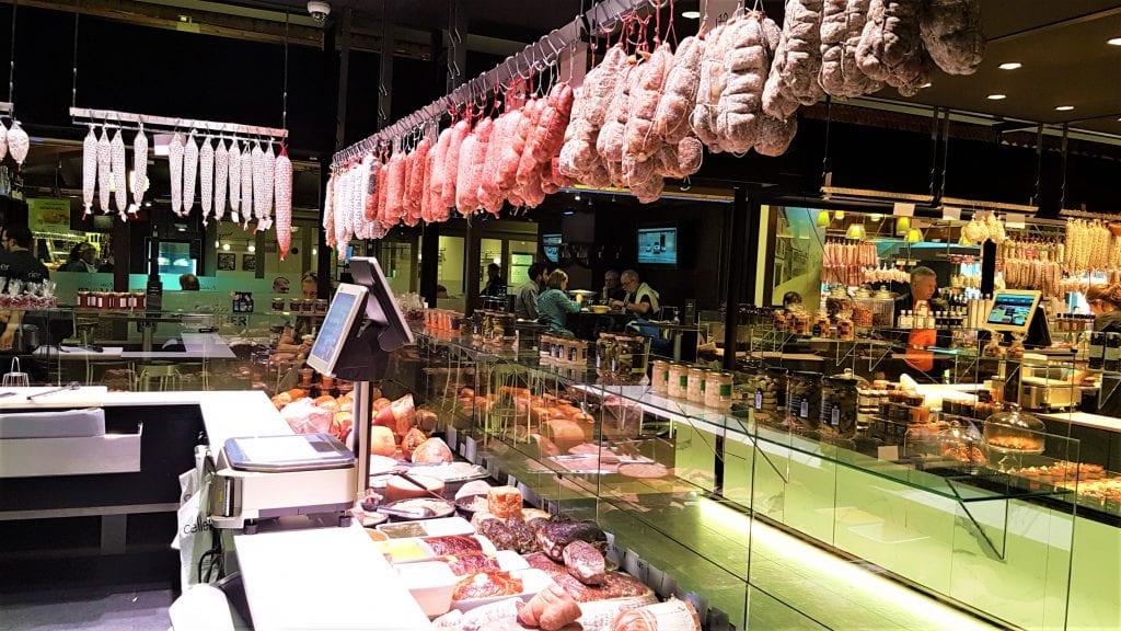 שוק אוכל בליון, צרפת