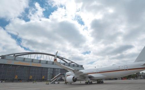 המטוס הגרמני הממשלתי החדש