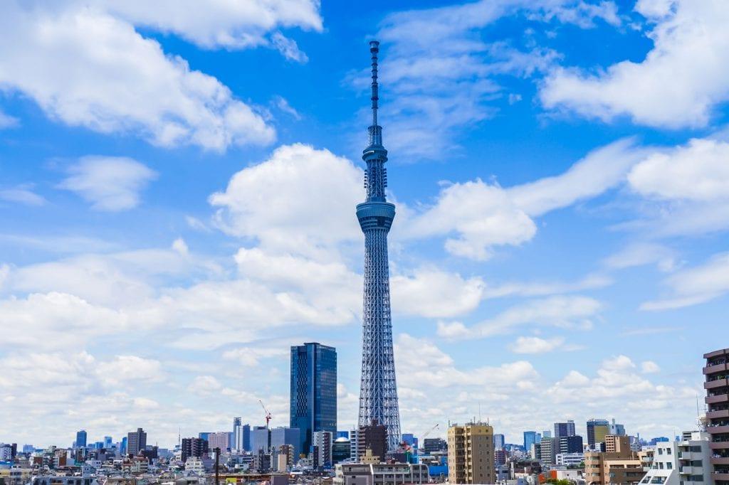 מגדל העץ, טוקיו
