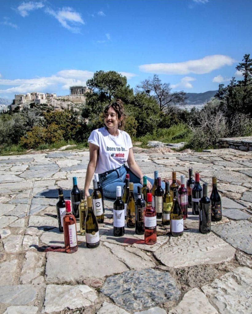 ג׳ורג׳יה מנהלת הבלוג wine.gini