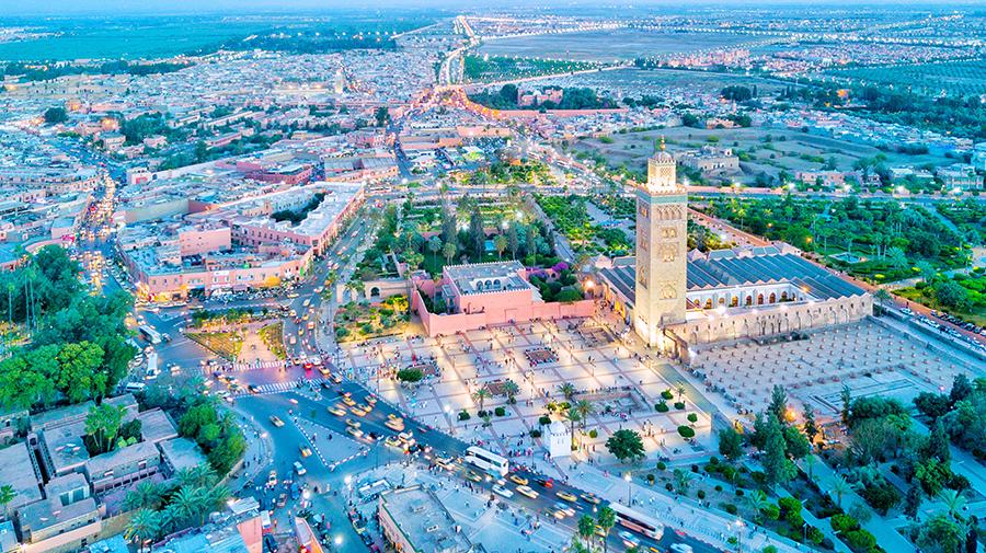 מרקש במרוקו