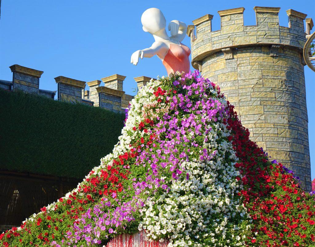 גן הפרחים של דובאי. צילום: ספיר פרץ זילברמן