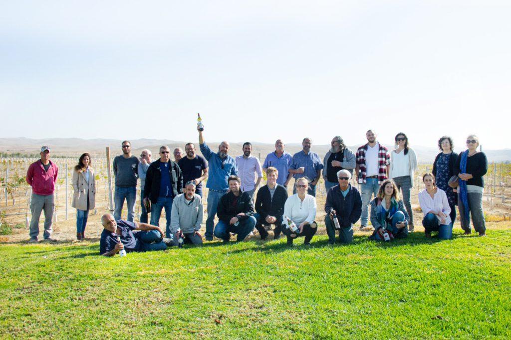 אנשי היין - יקבי הנגב, צילום: יחס״צ