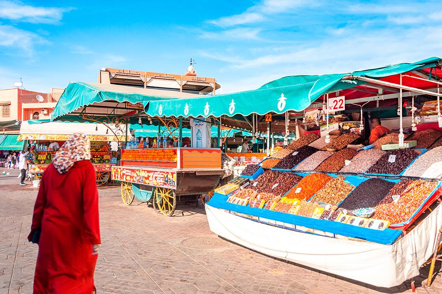 שוק במרקש, מרוקו