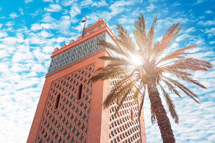 העיר מרקש, מרוקו