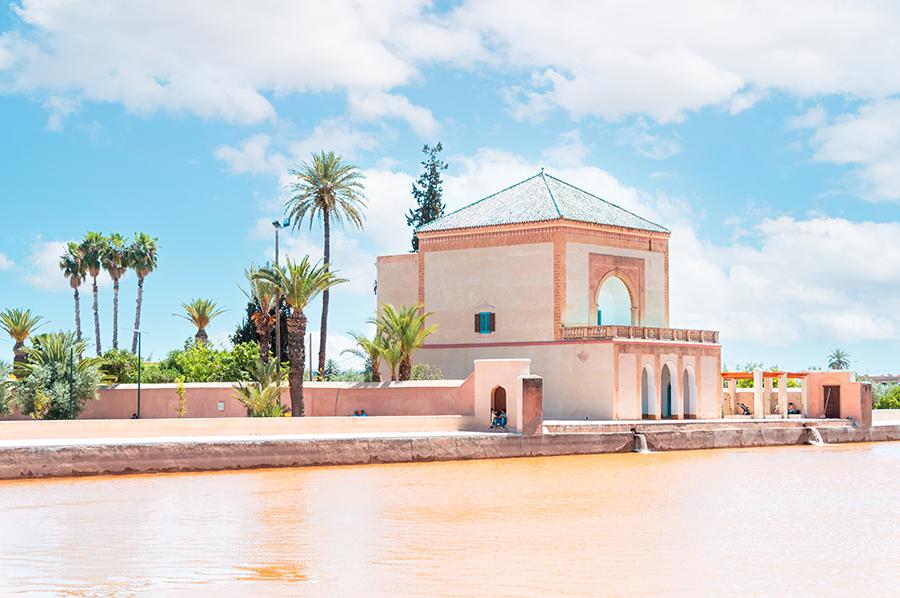 גני מנרה מרקש, מרוקו