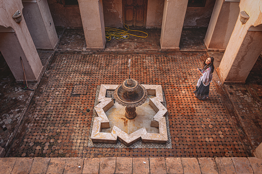 הרובע היהודי, בית הקברות ובית הכנסת היהודי במרקש, מרוקו