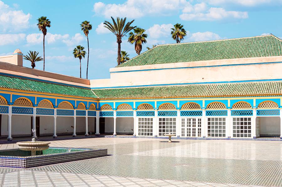 ארמון באהיה במרקש