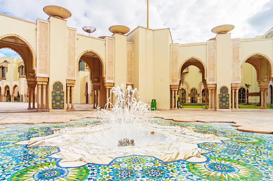 מסגד חסן השני במרוקו