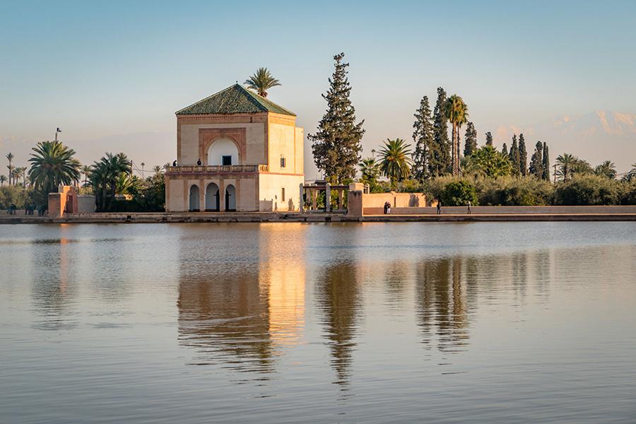 גני מאנרה מרקש מרוקו