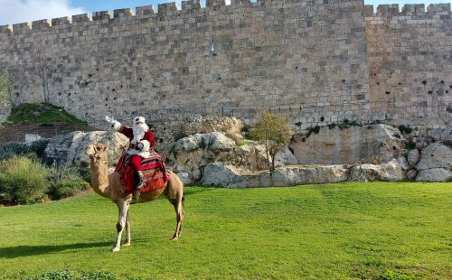 משרד התיירות השקיע כמיליון שקל בקישוטי חג מולד בנצרת