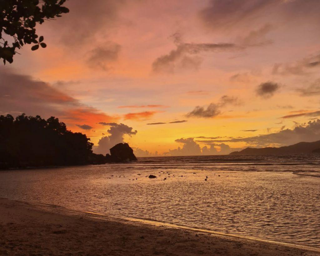 שקיעה באיי סיישל
