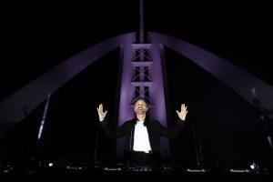הופעה מקוונת של DJ דייוויד גואטה מהבורג' אל ערב ב-6 בפברואר
