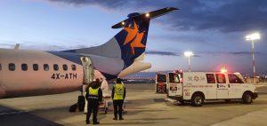 ישראייר בשיתוף מדאסיס ומשרד החוץ ביצעה טיסת חילוץ רפואי מבלגרד