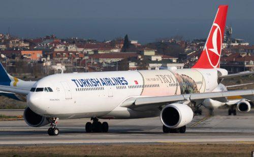 "טורקיש איירליינס חוזרת לטוס אל ומנתב""ג"