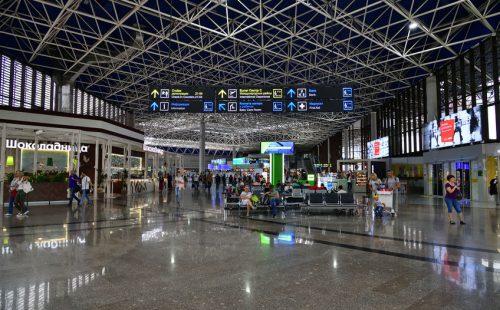 נמל התעופה סוצ'י.