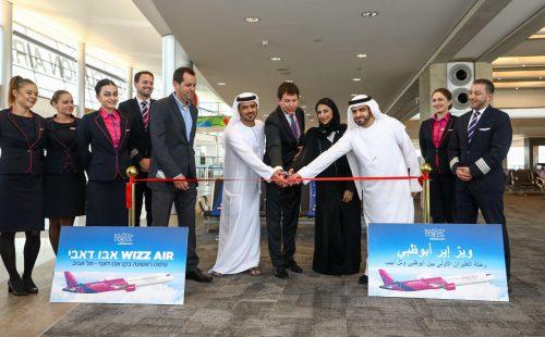 טקס השקת קו אבו דאבי - ת״א של Wizz Air