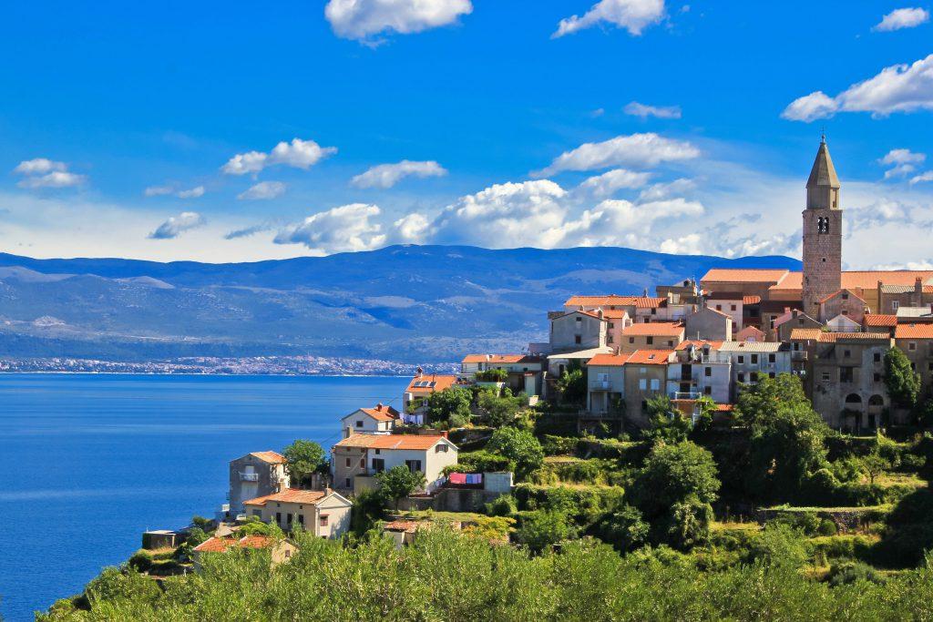 האי קרק, קרואטיה