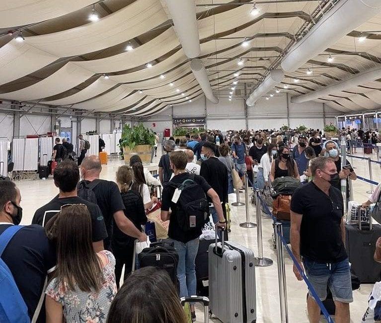ישראייר נגד משרד הבריאות: לבטל לאלתר הכוונה לחייב נוסעים נכנסים בתשלום בדיקות קורונה