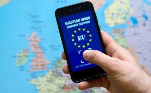 הדרכון הירוק של האיחוד האירופי