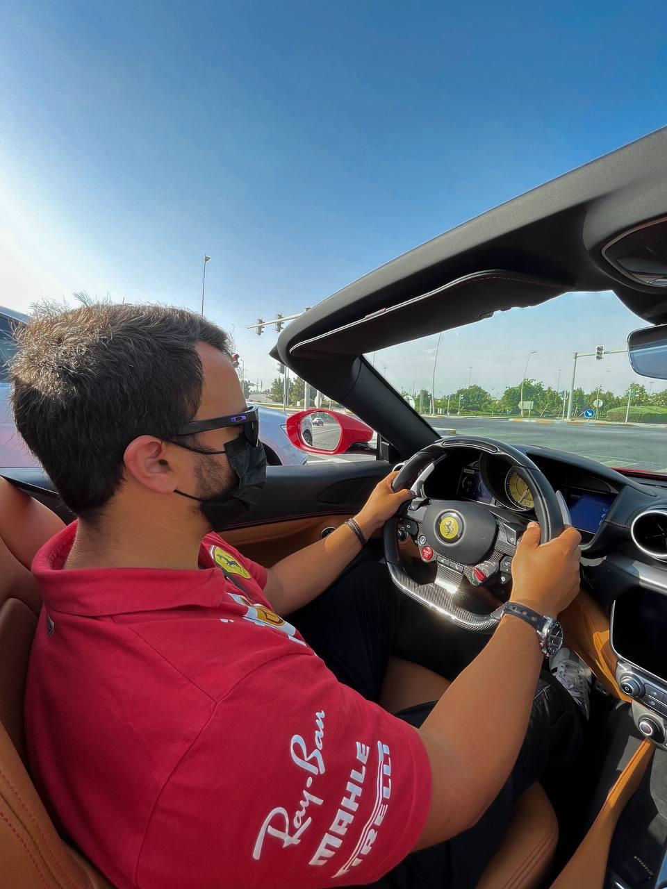 חוויית נהיגה בפרארי