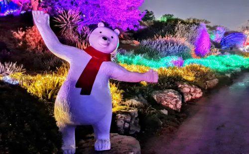 "SNOW SHOW: החלו אירועי ""ממלכת השלג"" בגן הבוטני בירושלים"