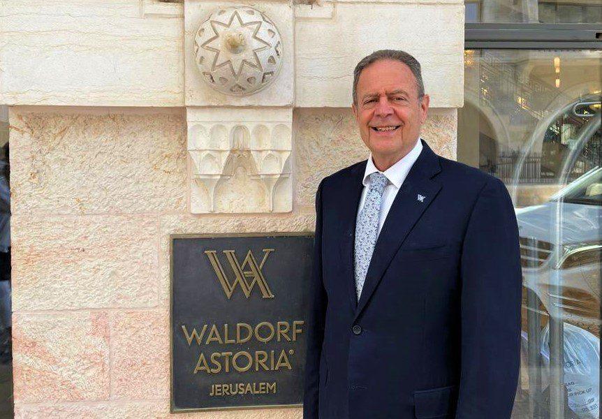 """ראיון עם מנכ""""ל מלון וולדורף אסטוריה ירושלים"""