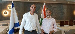 """אלון שאול, מנכ""""ל וורט ים המלח עם שר החוץ ההודי, סוברמנייאם ג'יישנקאר"""