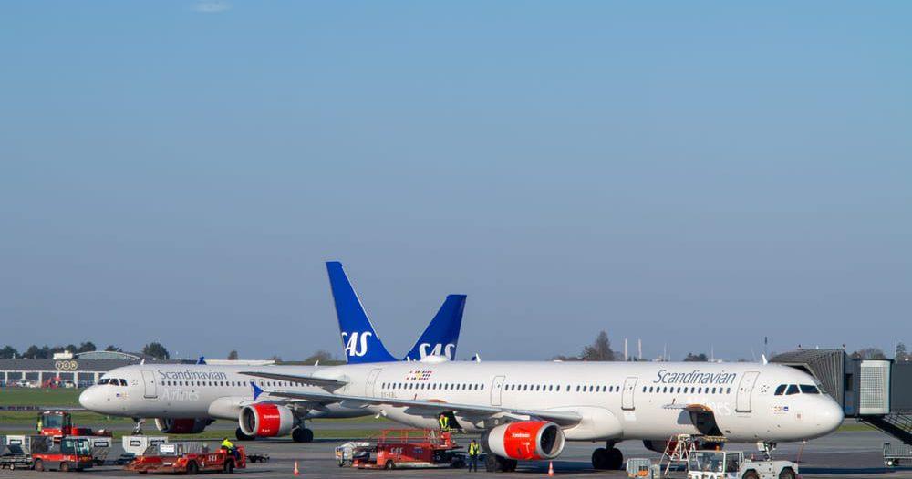 מטוסי SAS בנמל התעופה בקופנהגן. צילום: Shutterstock