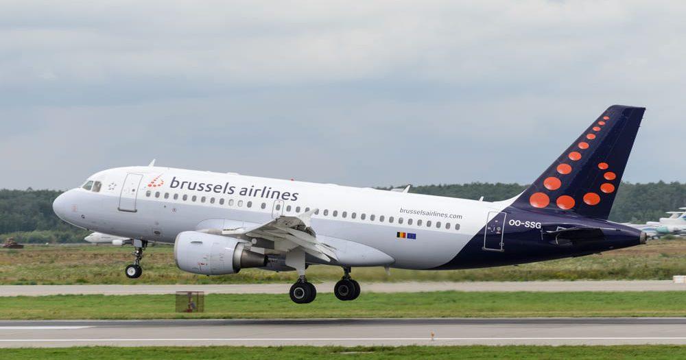 מטוס בריסל איירליינס